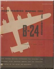 Consolidated B-24 Aircraft Pilot Training Manual - 1945