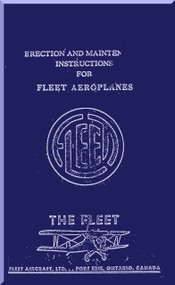 Fllet Finch Model 16 Aircraft Maintenance  Manual
