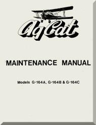 Grumman American G-146 A, B , C  Aircraft Maintenance Manual  1977