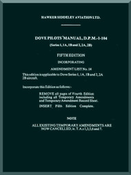 De Havilland Dove Aircraft Pilot's  Manual