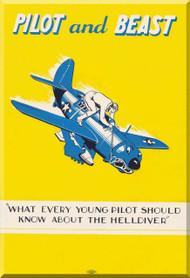 Curtiss Helldiver Aircraft Pilots and Beast Manual