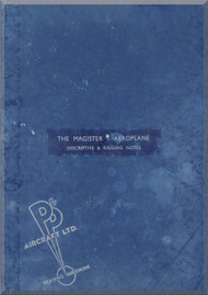 Miles  Magister  Aircraft  Descriptive & Rigging  Notes Manual