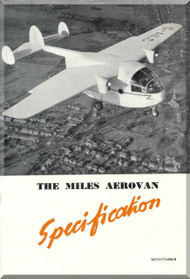 Miles  Aerovan  Aircraft  Specification Manual