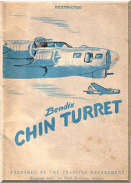 Bendix Chin Model D Turret Aircraft Technical Manual
