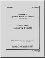 Emerson 250SE-10 Turret Model  Aircraft  Manual