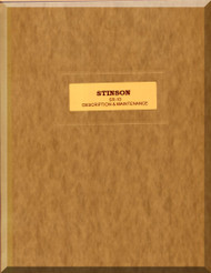 Stinson  SR-10  Aircraft Description and Maintenance Manual