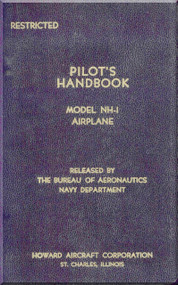 Howard NH-1 Aircraft Flight Manual - Nav Aer 01-170RA-1- 1943