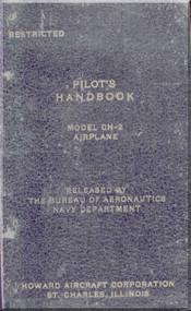 Howard GH-2 Aircraft Flight Manual - Nav Aer 01-170QB-1- 1944