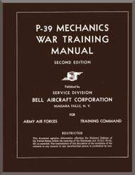 Bell P-39  Aircraft Mechanical War Training Manual, 1943