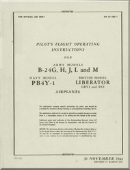 Consolidated B-24  Flight Manual