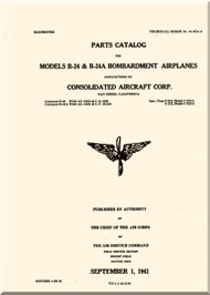 Consolidated B-24 Parts Catalog