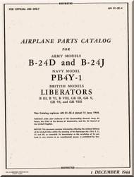 Consolidated B-24 Aircraft Manual