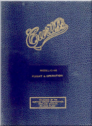 Curtiss C-46 Aircraft Operation and Flight Manual - 01-25LA-1 - 1945