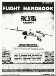 North American Aviation TB-25 N Aircraft Flight Manual - 1B-25(T)N-1