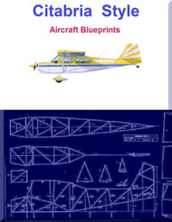 Citabria  Style Aircraft Blueprints Download