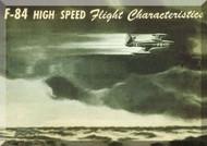 Republic F-84 Aircraft Characteristics Manual