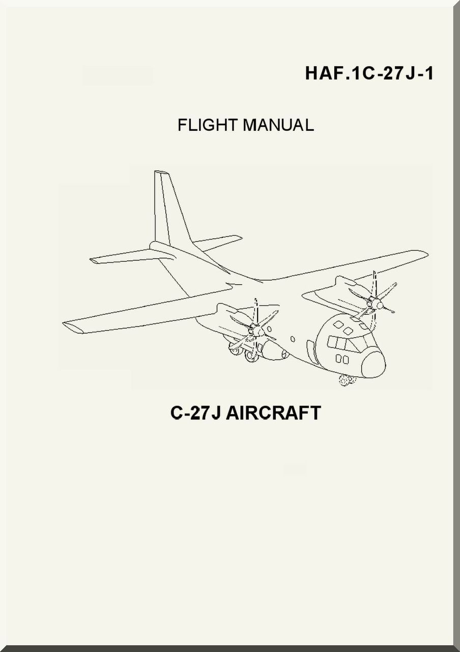Alenia / Lockheed C-27 J Flight Manual, ( English Italian