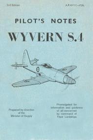 Westland Wyvern S.4  Aircraft  Pilot's Notes Manual