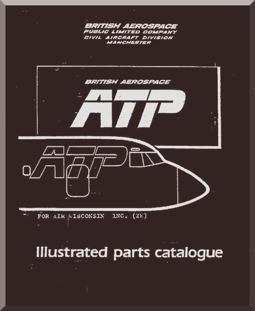 Bae atp aircraft illustrated parts catalog manual aircraft reports image 1 malvernweather Image collections