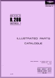 Beagle B.206 Aircraft Illustrated Parts Catalog Manual