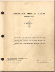 Airspeed Ambassador Aircraft Flight  Manual