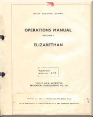 Airspeed Ambassador Aircraft Operation  Manual