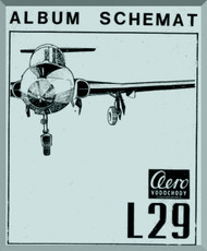 Aero Vodochoy L-29 Delfin Aircraft Schematic Manual