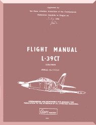 Aero Vodochoy L-39 CT Albatross Aircraft Flight  Manual