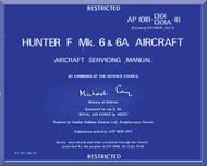 Hawker Hunter F Mk.6 Aircraft  Servicing Manual - AP 101B-1301-1B