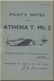 A. V. Roe Avro Athena  Aircraft Pilot's Notes Manual -   A.P. 4289 - P.N. , 1945