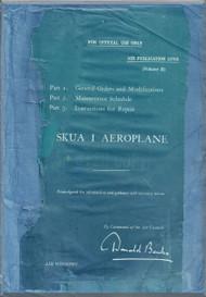 Blackburn Skua I Aircraft Technical Manual  -  ( English Language )  Air Publication 1570 A, 1938