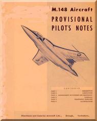 Blackburn Buccaneer M.148 Aircraft Pilot's Notes Manual
