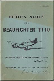 Bristol Beaufighter  TT 10 Aircraft  Pilot's Notes Manual