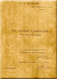Handley Page Halifax V  Aircraft  Service Manual     AP 1719E