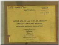 Handley Page Victor B Mk.1  Aircraft Service  Manual - Instruments and Radio