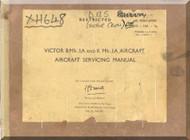 Handley Page Victor B Mk.1  Aircraft  Service Manual Volume 1