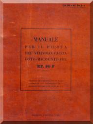 FIAT Republic RF-84-F  Aircraft Pilot Manual