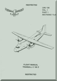 Transall C-160 Z Aircraft Flight  Manual