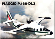 Piaggio P.166 DL3 Aircraft Technical Brochure   Manual,  ( English Language )