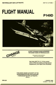 Piaggio P.149 D Aircraft Flight   Manual, Manuale di Pilotaggio ( English Language )