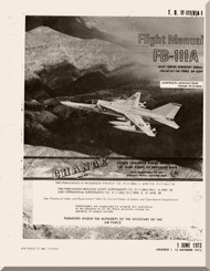 General Dynamics FB-111A Aircraft Flight Manual, T.O. 1F-111(B)A-1, 1973