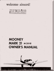 Mooney M.20 B  Aircraft Owner Manual  - 1961