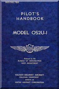 VOUGHT OS2U1  Aircraft Flight Manual - Pilot Handbook
