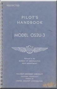 Vought Sikorsky OS2U-3 Aircraft Flight Handbook Manual
