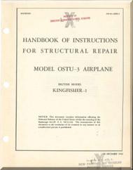 Vought Sikorsky OSTU-3 Kingfish 1 Aircraft Structural Repair Manual