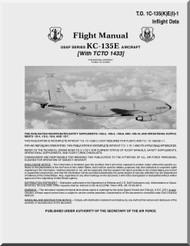 Boeing  KC-135 E Aircraft Flight Manual - T.O. 1C-135(K)E(I)-1