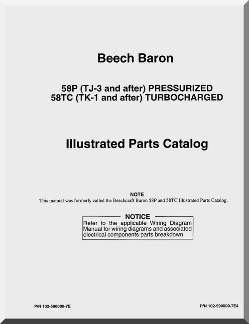 baron58P_58TC_IPC0001__14301.1446527227.500.750 beechcraft 58p wiring diagrams diagram wiring diagrams for diy Beechcraft F90 at readyjetset.co