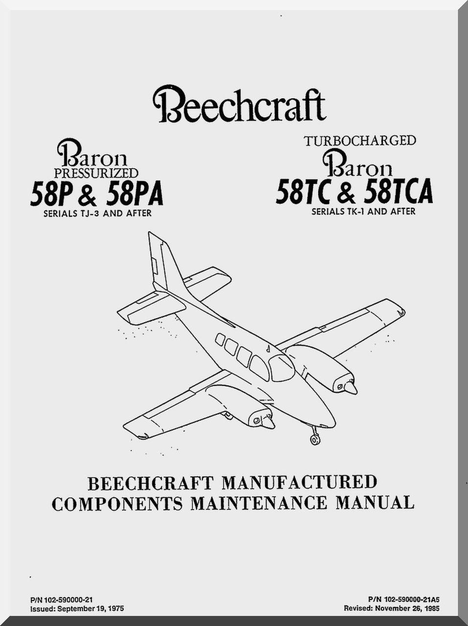 aircraft maintenance manuals