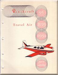 Beechcraft  95 B 95  Travel Air Aircraft  Illustrated Parts Catalog Manual -