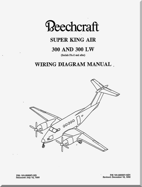 beechcraft super king air 300 and 300 lw aircraft wiring